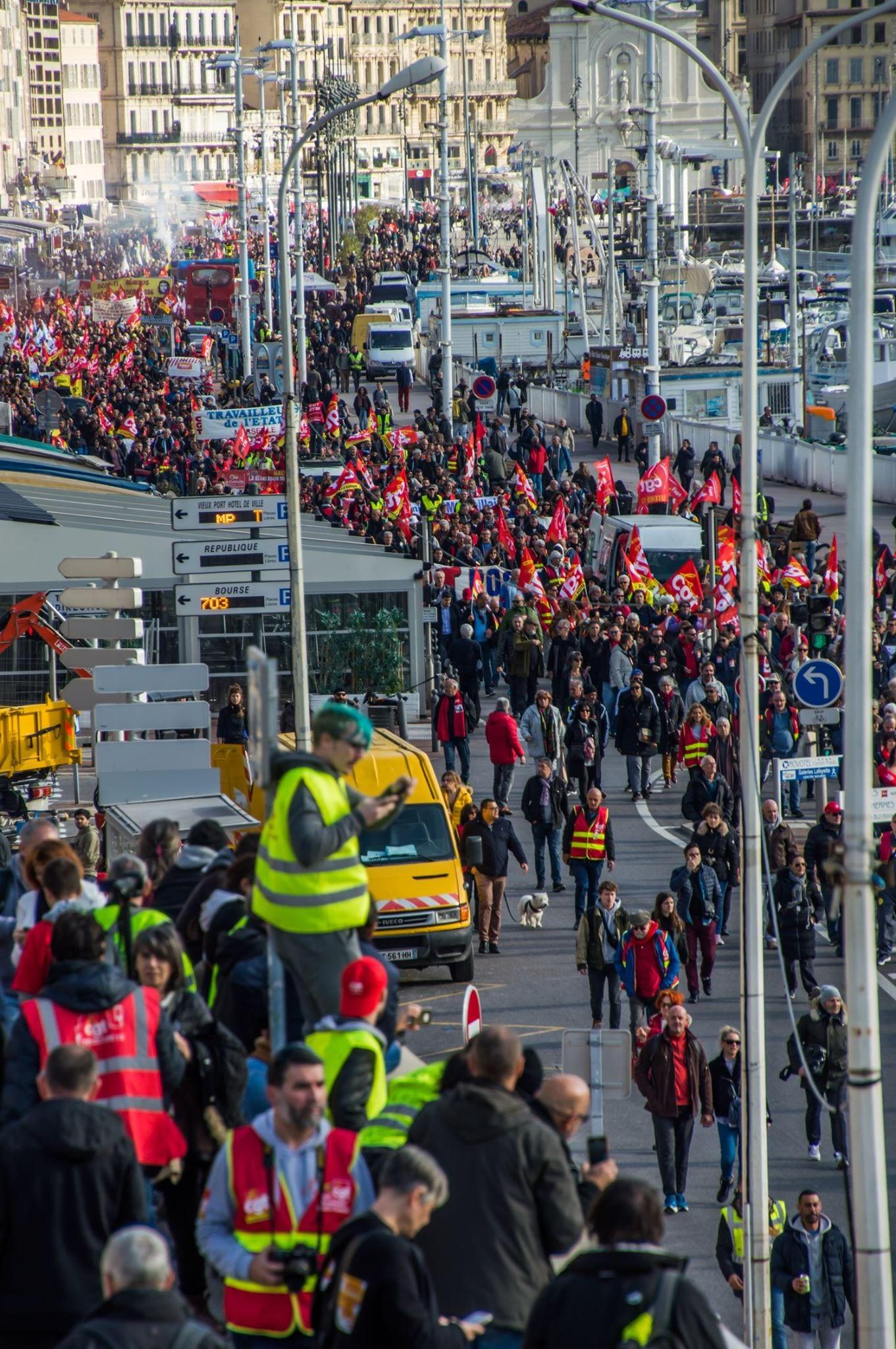 Marseille manifestation
